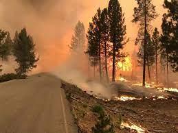 Bootleg Fire burning in Klamath County ...
