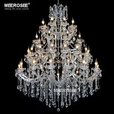 huge crystal font b chandelier b font light fixture for hotel project gorgeous crystal lamp hanging