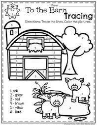 Preschool Farm Theme Preschool Worksheets Farm Animals Preschool