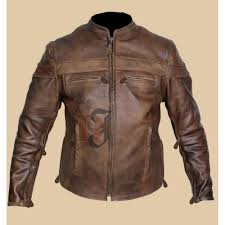 vintage style cafe racer brown distressed jacket distressed jackets