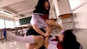 Japanese girl catfight sex