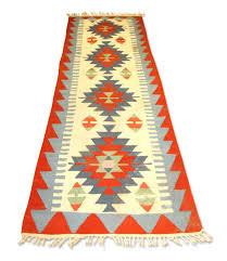 rugs dry vintage indian colorful runner rug