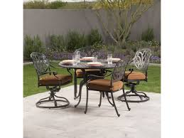 san marino cast aluminum dining group