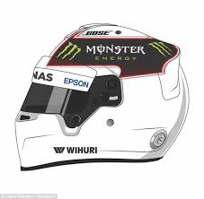 lewis hamilton challenges fans to design new race helmet daily