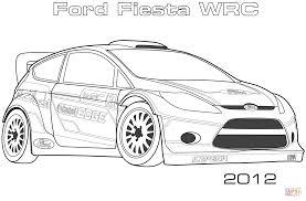 Coloriage 2012 Ford Fiesta Wrc Coloriages Imprimer Gratuits