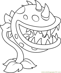Plants Vs Zombies Coloring Pages Parkinggaragecf