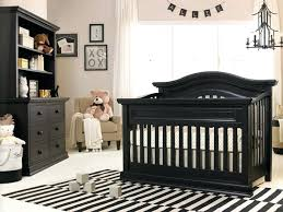 Nursery with white furniture Modern Teal Walls White Furniture Baby Nursery With Black Convertible Crib And Stripes Area Rug Rugs For Crotchgroin Teal Walls White Furniture Baby Nursery With Black Convertible Crib