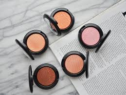 mac extra dimension blushes