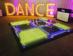 Hot Item Weddings Showrooms Shopping Malls 50x50cm Dj Led Light Indoor Dmx Used Dance Floor For Sale