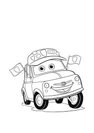 Small Picture Disney Cars 2 Luigi Coloring PagesCarsPrintable Coloring Pages