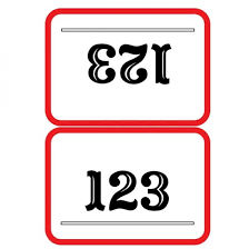 auction bid numbers template double sided rectangular bidding card equipped portray like db 1 b 02 auctionrectangle