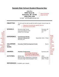 Resume Examples For Highschool Students Pdf High School Student Job Resume Examples Forol Students Pdf Graduate 9