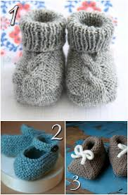 Free Knit Patterns Magnificent 48 Free Knitting Patterns For Baby Shoes Blissfully Domestic
