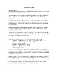 Hortulus Style Guide 2010 Editing Citation