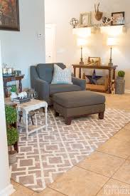 farmhouse style rug decor from this silly girl s