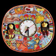 ceramic wall clock wall clock big large