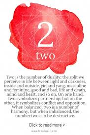 Numerology Chart 2 Synchronicity Symbolism And The Meaning Of Numbers