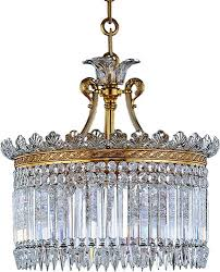 baccarat style no 1931306 baccarat crystal crinoline 13 light oval chandelier