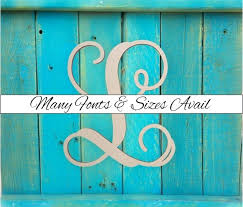 diy large wood letters wooden monogram letter l large or small unfinished cursive wooden letter perfect