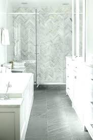 marble tile shower. Marble Tile Shower Grey Herringbone Floor Wall Porcelain
