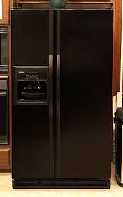 kenmore elite fridge black. 985-kenmore-refrigerator-closed.jpg kenmore elite fridge black -