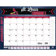 turner sports 2017 22 x 17 desk calendar st louis cardinals com