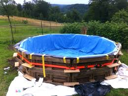 Build Your Own Pool Slide Homemade Above Ground Pool Build Your Own