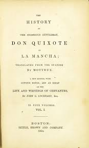 iconography of don quixote the history of the ingenious gentleman don quixote de la