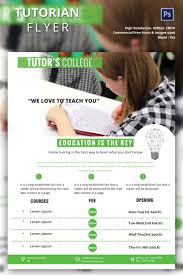tutoring flyer template 26 psd ai vector eps format creative tutoring flyer template