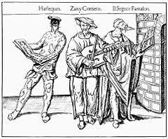 Опера Википедия Сцена из представления комедии дель арте xvi век