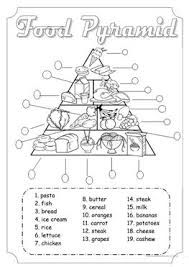 English Esl Food Pyramid Worksheets Most Downloaded 18