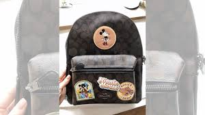 <b>Рюкзак</b> Coach <b>Disney Minnie Mouse</b> оригинал купить в Москве ...