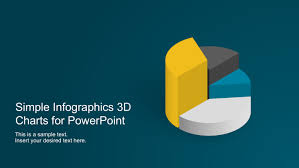 Simple Info Graphics Simple Infographics 3d Charts For Powerpoint Slidemodel