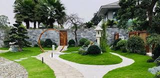 Dịch vụ thiết kế thi công sân vườn biệt thự giá tốt