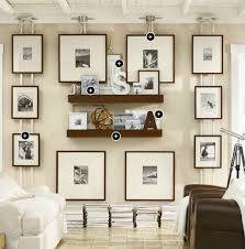 Pottery Barn Living Room Colors Gallery Wall Idea Using Boat Cleat And Nautical Rope From Pottery