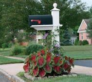 landscaping around mailbox post. Best 25 Mailbox Landscaping Ideas On Pinterest Makeover And 3 Post Around