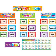 Second 100 Sight Words Pocket Chart Cards Tcr20846 Teacher Created Resources