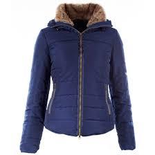 winter horze las sophia padded jacket navy 110028 1