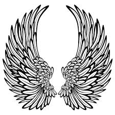 Free Hearts With Wings Coloring Pages Download Clip Art Inside Heart