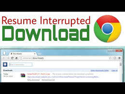 How To Resume Interruptedbroken Chrome Download PC Only YouTube Simple Chrome Resume Download