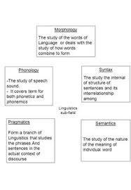 36 Best Linguistics Images Morphology Linguistics English