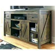 barn door media center. Barn Door Media Center Sliding Cabinet Console . E