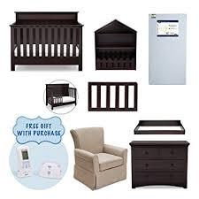 Amazon Serta Fall River 7 Piece Nursery Furniture Set w