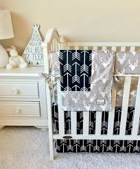 Best 25+ Baby boy bedding ideas on Pinterest | Boy nurseries, Boy ... & Grey Deer and Black Arrows Bumperless Crib Bedding. Baby Boy ... Adamdwight.com