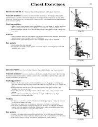 Bowflex Xtl Exercise Wall Chart Bowflex Xtl Exercises Chart Related Keywords Suggestions
