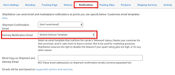 Delivery Confirmation Template Unique How Do I Send A Delivery Notification Email To My Customers