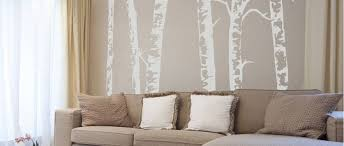 silver birch trees vinyl wall sticker on silver birch wall art stickers with variable tags contemporary wall stickers page 6
