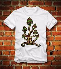 Boardrippaz T Shirt Magic Mushrooms Shrooms Psychedelic Wholesale Peace Hippie Rainbow 100 Cotton Brand New T Shirts Fun T Shirts Online Shirts From