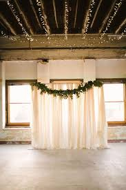diy lighting for wedding. Diy Lighting Wedding. Beautiful And Easy Wedding Backdrops!   Confetti.ie For