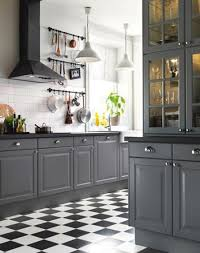 Dark Grey Kitchen Countertops Fair Cabinets With White Kitchens And